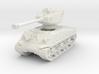 M4A3E8 Sherman 76mm 1/76 3d printed