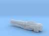 UNSC Strident heavy frigate 3d printed