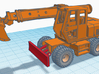 1/87th four wheel carrier for Gradall excavator 3d printed