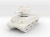 M4A3 HVSS 105mm (sandshield) 1/76 3d printed