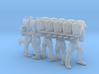 28mm heroic scale British squad (without arms) 3d printed