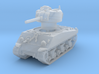 M4A3 Sherman 75mm late 1/200 3d printed