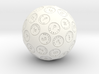 d60 Argam Sexagesimal Sphere Dice 3d printed