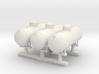 Propane tank 500 gallon. HO Scale (1:87) x3 Units 3d printed