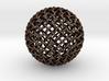 Single Stranded 320 Facet Globe Knot 3d printed