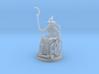 Human Female Wizard in a Wheel Chair 3d printed