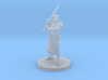 Human Female Great Weapon Fighter 3d printed