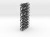 A 3D mesh & 2D chain 3d printed