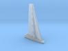 Racing yacht / MICRO, waterline 3d printed