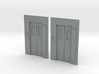 B-01 Lift Entrances - Type 1 (Pack of 2) 3d printed