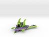 Evil Jet 3d printed
