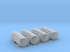 TankTainer - set of 4 - Nscale 3d printed