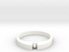1-bit ring (US9/⌀18.9mm) 3d printed