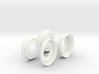 SR40013 5 Lug Wheel covers (SET OF 4) 3d printed