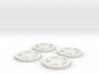Explorer Rims (Set of 4) 3d printed