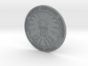 Shield badge  3d printed