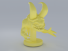 Sculpted Monester 3d printed Rendered with Cycle