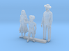 O Scale Family 3d printed This is a render not a picture