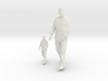 Architectural Man - 1:50 + 1:100 - Walking (2) 3d printed