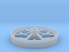 Flat Spoke Wheel 3d printed