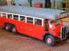 1:43 London Transport LTL Bus 3d printed Kit built, painted & photographed by Terry Russell. Wheels from Kingfisher Models. London Transport transfers from Terry Russell Trams.