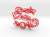 Sprouted Spirals Necklace (Chain) 3d printed