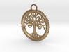 Tree Pendant 3d printed