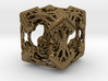 Cubic Woods Pendant 3d printed