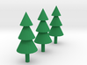 Trees Miniatures ( Set of 3 ) 3d printed