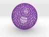 Lampshade (Ikebana-1 Honeycomb Wireframe) 3d printed