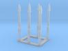 Universal Modular Mast, 1/144 scale 3d printed
