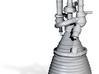 J-2 Engine (1:70) for Saturn IB or V 3d printed
