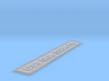 Nameplate USS Ohio SSBN-726 (5 inches) 3d printed
