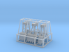 Clamshell Buckets N or HO Scale 3d printed