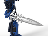 Toa Tuyets Barbed Broadsword 3d printed