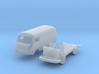 Hanomag-Henschel F25 Kastenwagen (TT 1:120) 3d printed