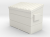 Dumpster small (1:160) 3d printed