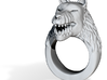 Wolf-Ring Size 14.5 3d printed