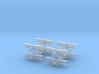 1/600 Fairey Swordfish (x8) 3d printed