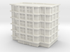 Residential Building 03 1/1000 3d printed