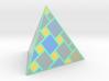 a cubic pyramide 3d printed