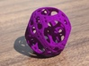 Apollonian Octahedron Mini 3d printed Purple Strong & Flexible Polished