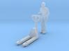 Delivery man with pallet jack (N 1:160) 3d printed