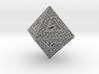 8 Sided Maze Die 3d printed