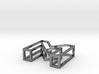 3D Font Letter M pendant 3d printed