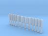 1:12 Salon Combs v2 3d printed