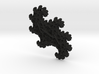 3D Fractal Abstract Pendant 3d printed