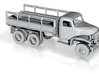 1/87 Scale GMC ACKWX 352 TRUCK 3d printed