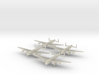 Lancaster-350-wheels-down-x4 3d printed