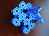 Hyperbolic 29 puzzle (Frame) 3d printed With nuts and bolts.